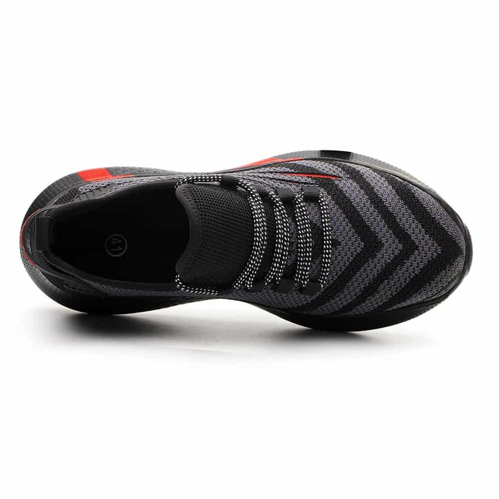 حذاء Shark 7 مضاد للصدمات - أحمر