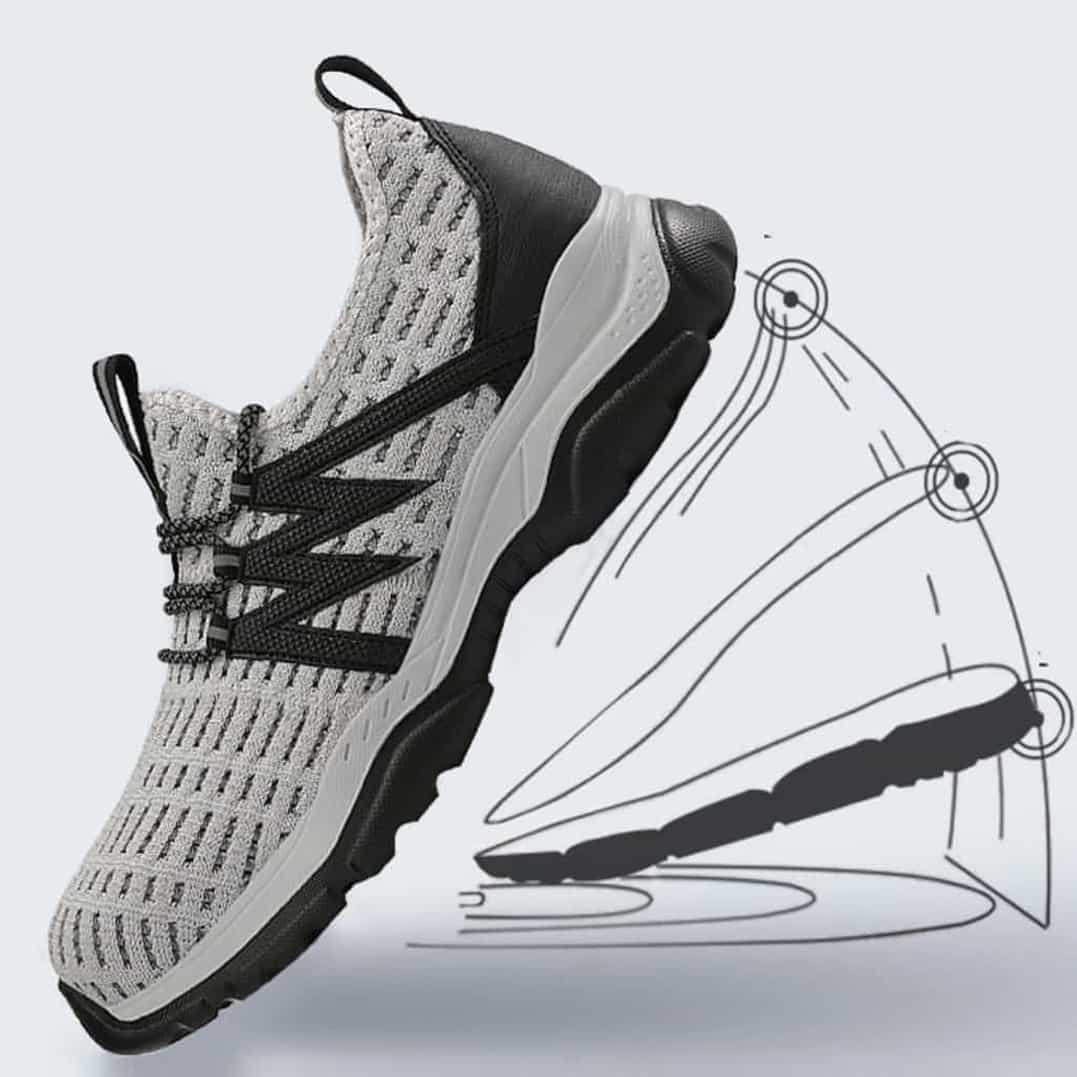 حذاء مضاد الصدمات - Monster V2 - رمادي