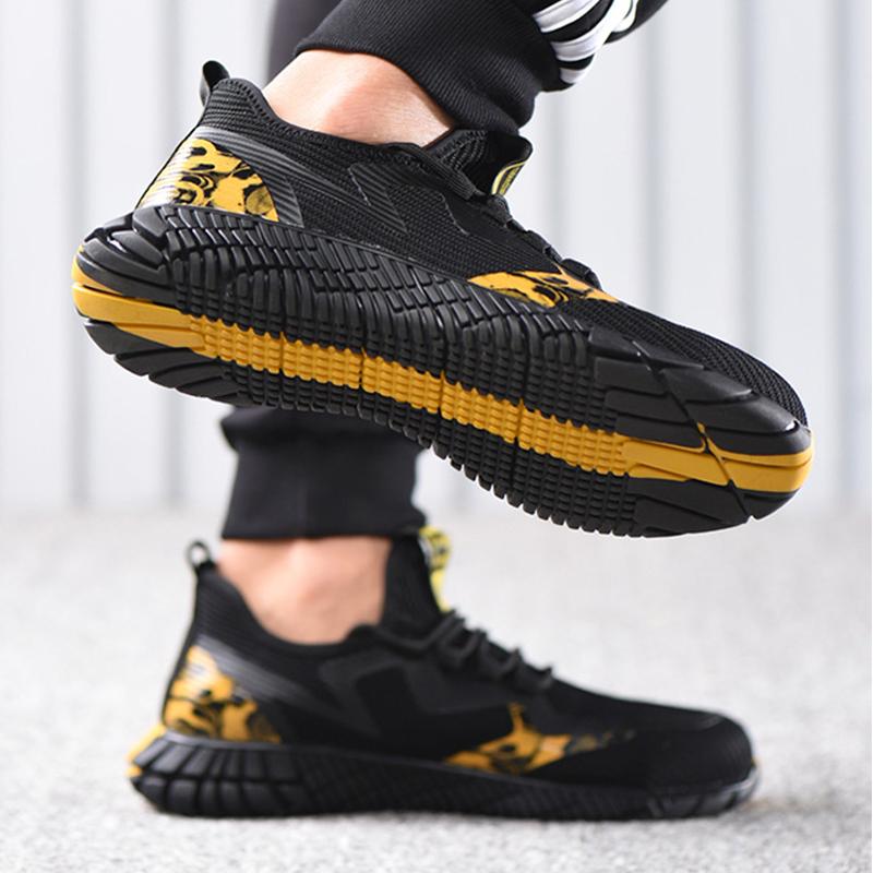 حذاء Ding Guyisa مضاد للصدمات
